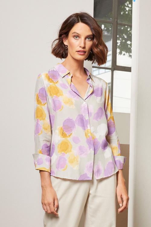 Grace Hill Printed Shirt