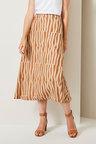 Grace Hill Linen Blend Skirt