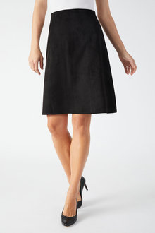 Capture Suedette A Line Skirt - 257034