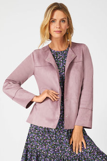 Capture Suedette Jacket - 257036