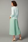 Grace Hill Cashmere Blend Button Sweater