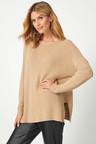 Grace Hill Cashmere Blend Boxy Sweater