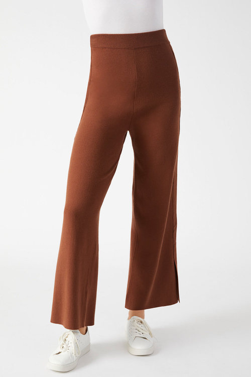 Grace Hill Knit Wide Leg Pant