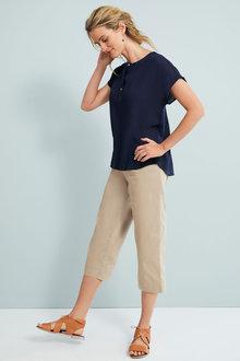 Capture Wide Leg Crop Pants - 257070