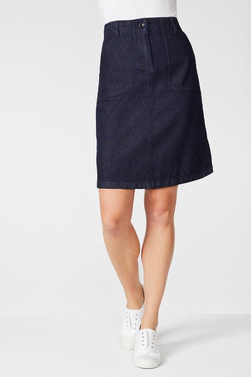 Capture Denim Skirt