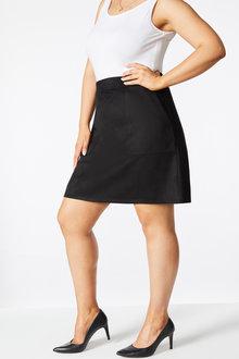 Sara Faux Suede Skirt - 257086