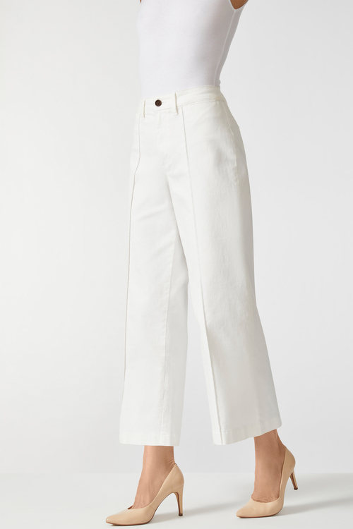 Emerge Seam Front Wide Leg Jean