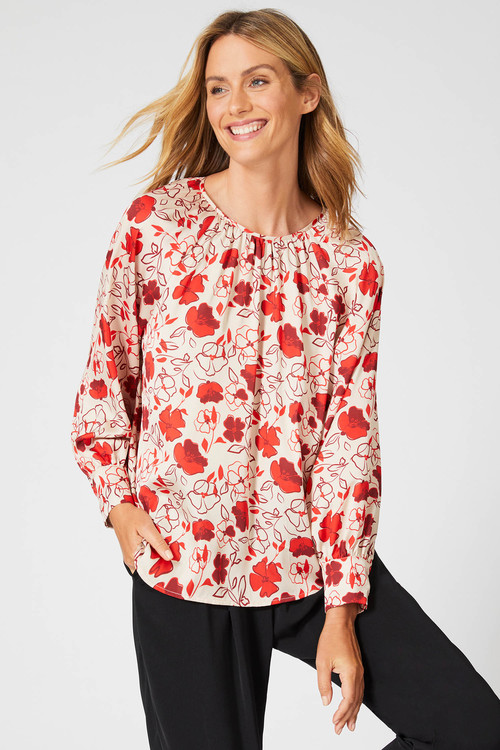 Emerge Gather Detail Blouse