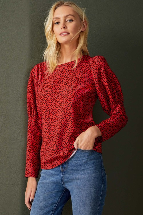 Emerge Statement Sleeve Top