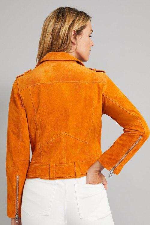 Emerge Suede Biker Jacket