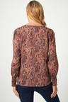 Capture Shirred Cuff Shirt
