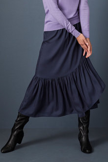 Capture Tiered Wrap Skirt - 257144