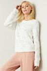 Emerge Scalloped Stitch Sweater
