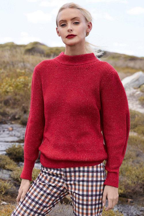 Emerge Statement Sleeve Sweater