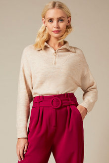 Emerge Half Zip Sweater - 257166
