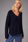 Emerge Chenille V Neck Sweater