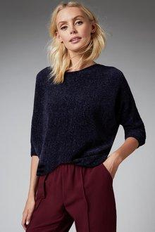 Emerge Chenille Batwing Sweater - 257171