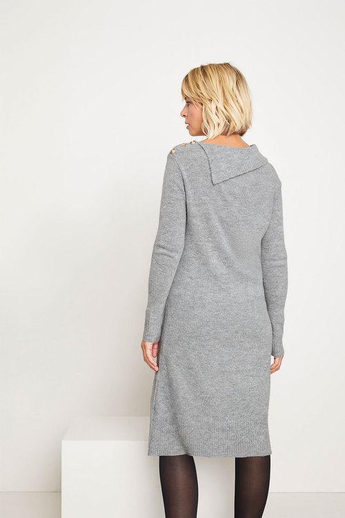 Capture Lofty Collared Dress