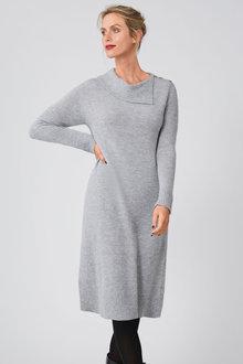 Capture Lofty Collared Dress - 257180