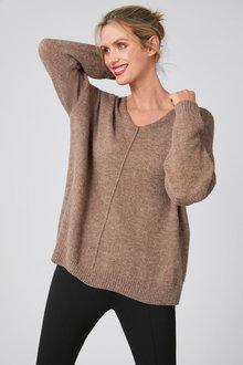 Capture Lofty V Neck Sweater - 257181