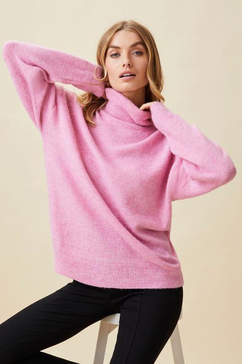 Capture Lofty Roll Neck Sweater