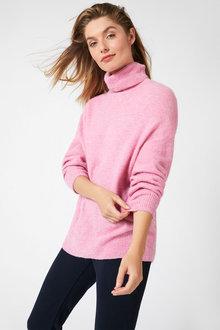 Capture Lofty Roll Neck Sweater - 257184