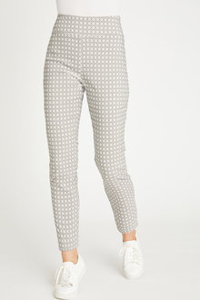 Capture Bengaline Printed Pull on Pant - 257191