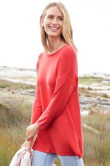Capture 3/4 Sleeve Sweater - 257192