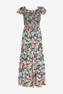 Next Shirred Maxi Dress - 257199