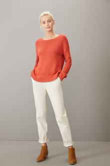 Emerge Cotton Blend Sweater - 257216