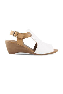 Bueno Wattle Mid Wedge Sandal - 257258
