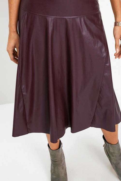 Euro Edit  A-Line Skirt