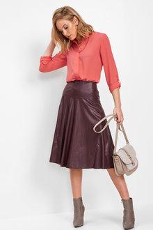 Euro Edit  A-Line Skirt - 257262