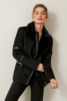 Urban Faux Suede Jacket - 257265