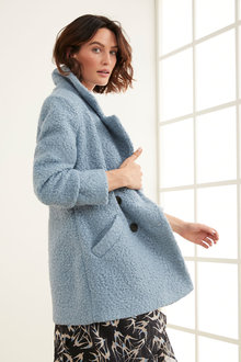 Grace Hill Boucle Coat - 257266