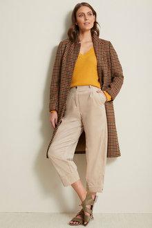 Grace Hill Wool Blend Classic Coat - 257269