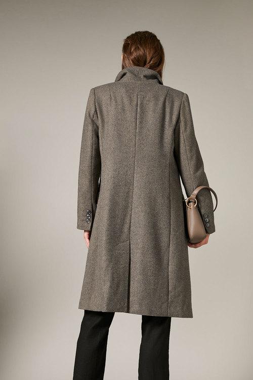 Grace Hill Wool Blend Classic Coat