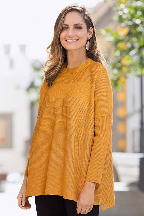 European Collection Oversized Pullover