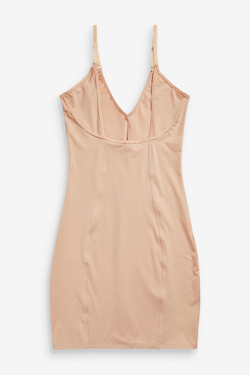 Next Light Control Wear Your Own Bra Cotton Shaping Slip