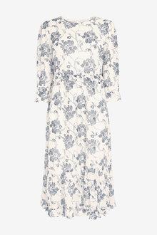 Next Tiered Frill Dress-Tall - 257391