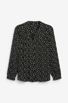 Next Gathered Yoke Shirt - 257392