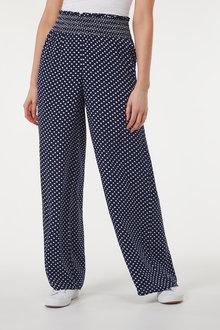 Next Shirred Waist Trousers - 257397