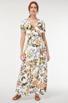 Next Shirred Maxi Dress-Tall - 257450