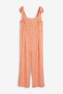 Next Tie Shoulder Jumpsuit - 257474