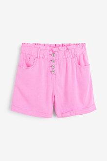 Next Linen Blend Shorts - 257475