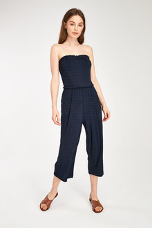 Next Crinkle Bandeau Jumpsuit-Tall - 257480