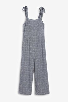 Next Tie Shoulder Jumpsuit-Tall - 257494