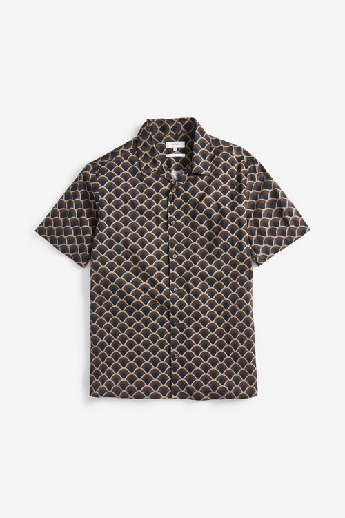 Next Print Short Sleeve Shirt