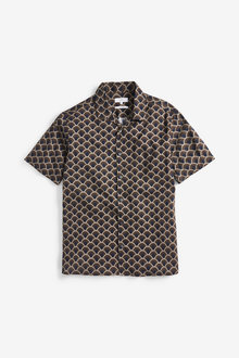Next Print Short Sleeve Shirt - 257544