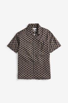 Next Print Short Sleeve Shirt - 257544
